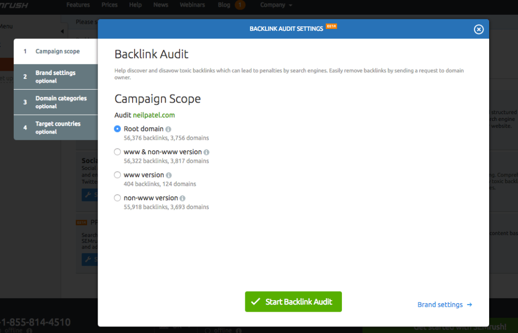 Start your photography sites backlink audit