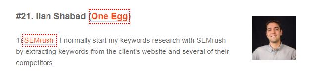 SEMRush Expert Recommended 12