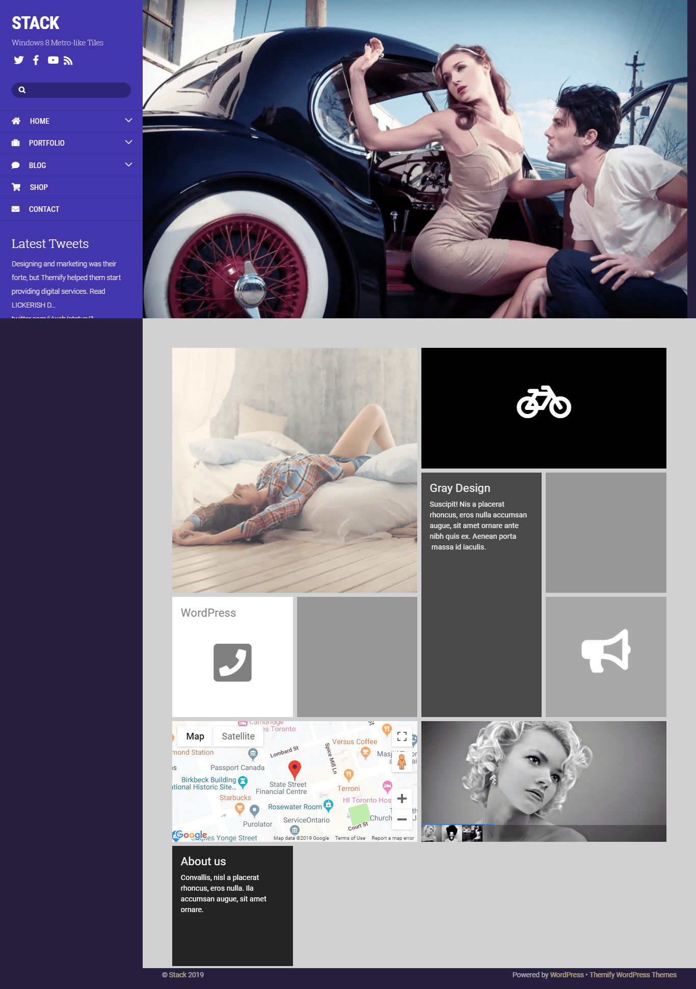 Themify Stack- WordPress Theme For Photography