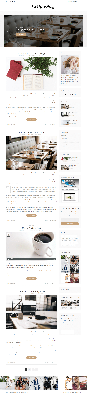 everly-hipster-wordpress-blog-theme