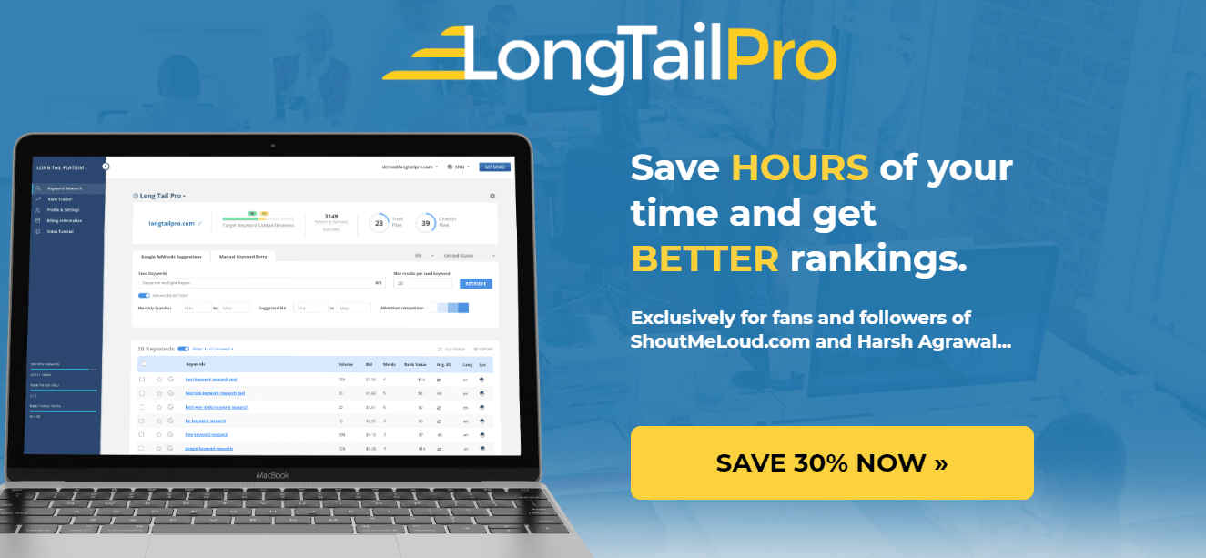 longtailpro-to find best SEO keywords for photographers