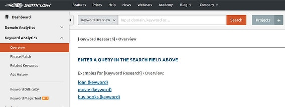 semrush-keyword-overview-search-box
