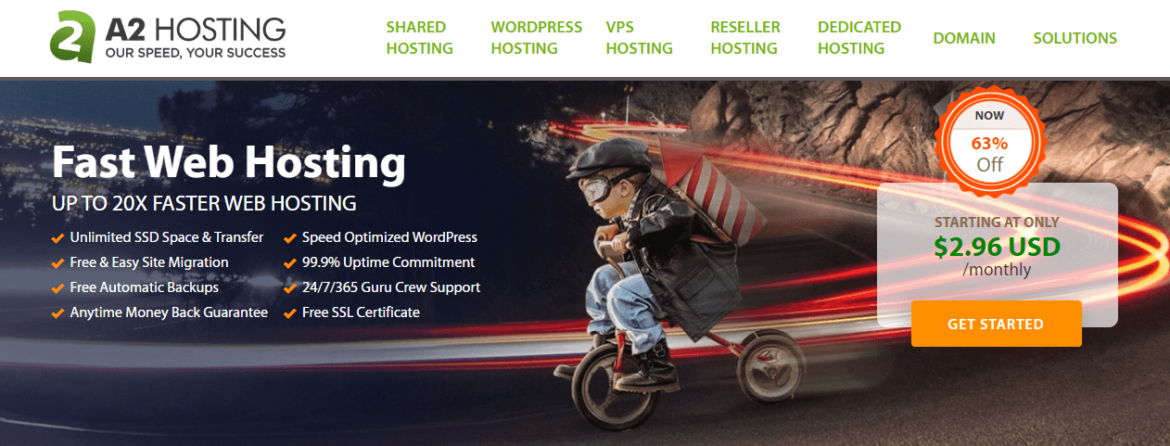 Cheap Shared WordPress Hosting With A2Hosting For India