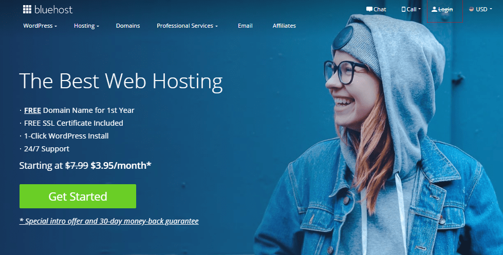 Bluehost-best overall hosting