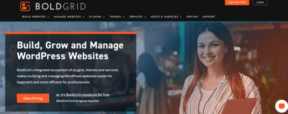 Cheap WordPress Website Builder With BoldGrid For India