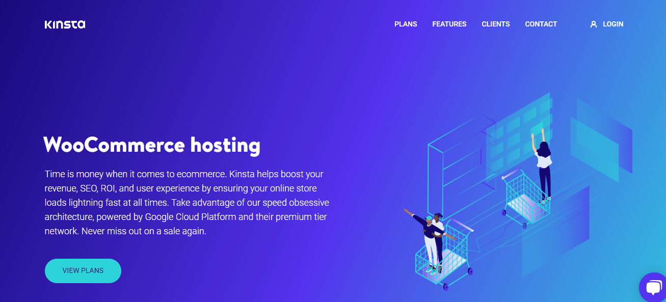 Kinsta-Best Woocommerce Hosting