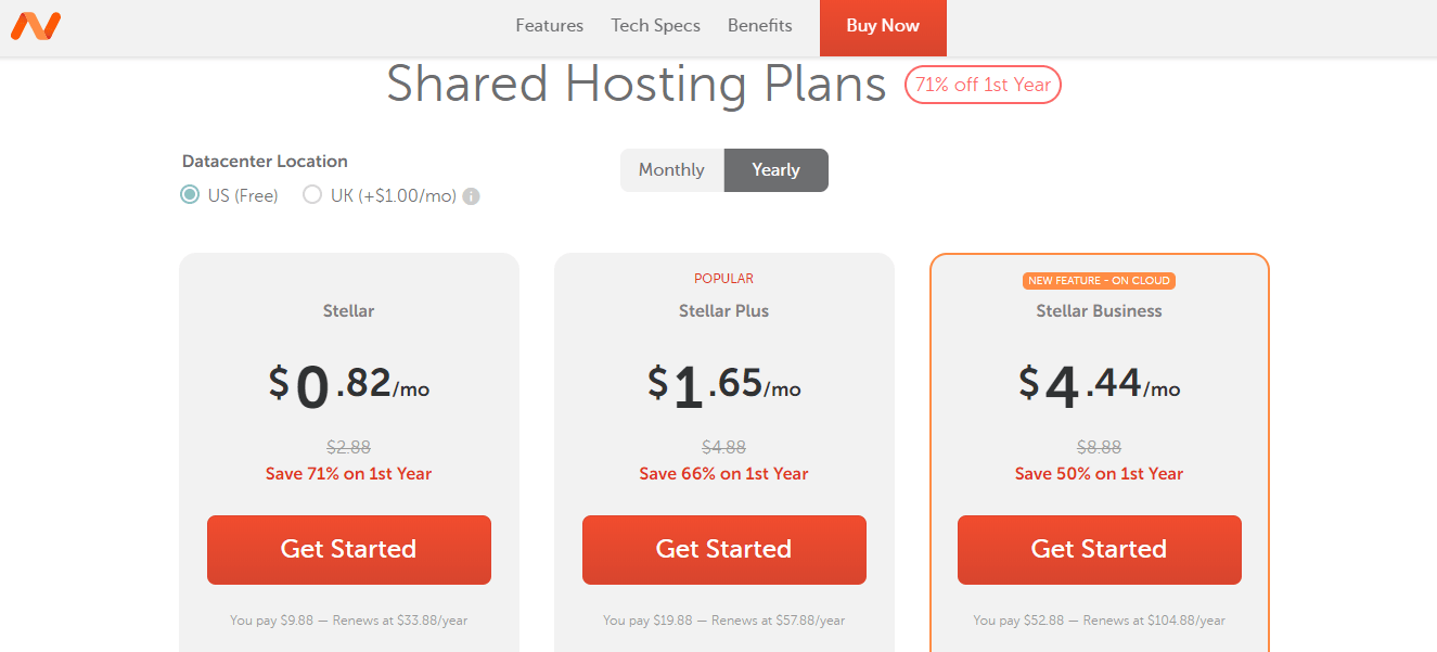 Namecheap-Best Shared Web Hosting