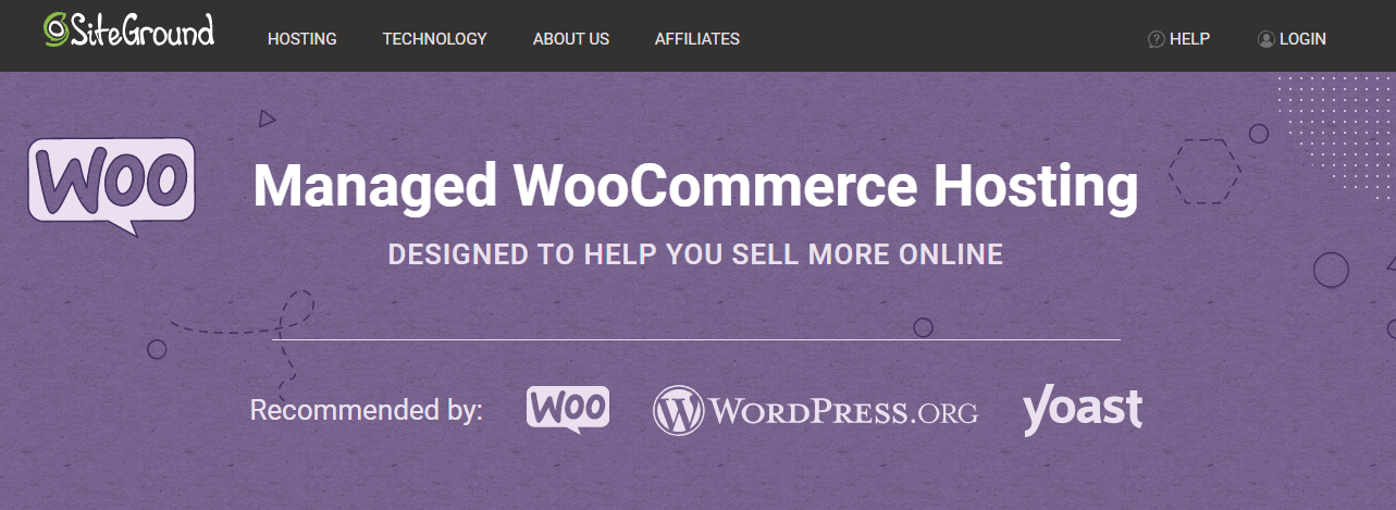Siteground-Best Woocommerce Hosting