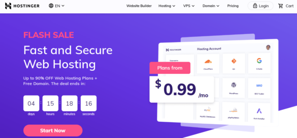 Cheap WordPress Dedicated Hosting With Hostinger For India