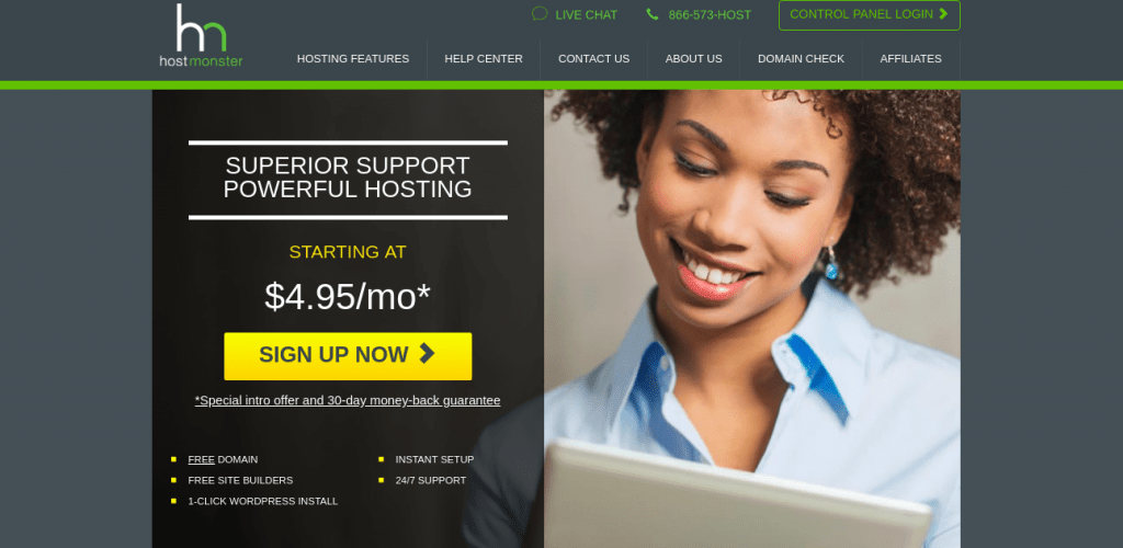 Hostmonster-Best Domain Hosting
