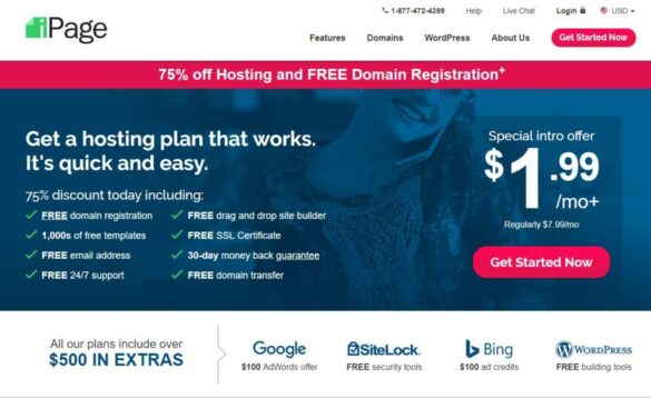 Cheap WordPress Dedicated Hosting With iPage For India