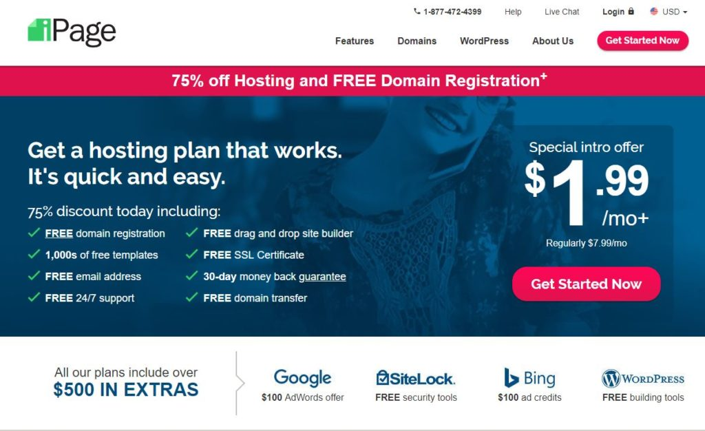 iPage-Best Website Builder Web Hosting