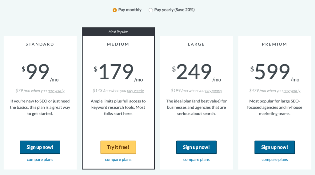 Moz-tool-pricing