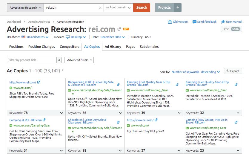 SEMrush-PPC-ads-analysis