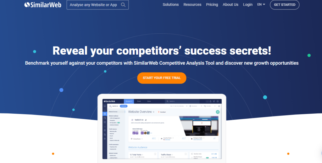 SimilarWeb-For-Competitive-Analysis