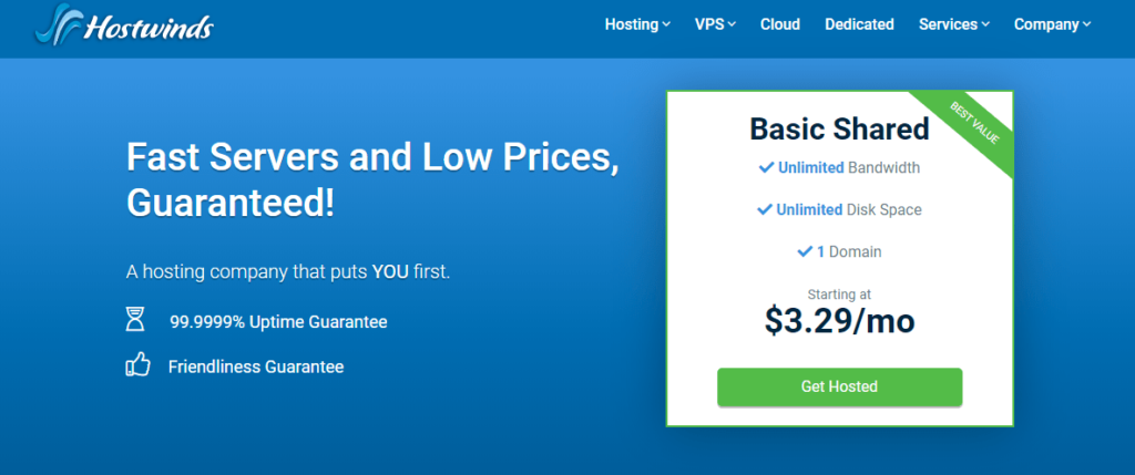 Cheap VPS WordPress Hosting With Hostwinds For India