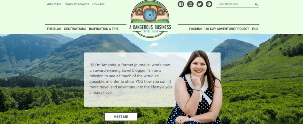 A-solo-travel-blogger-Amanda-Dangerous-business
